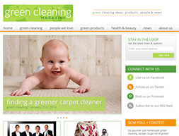 green cleaning magazine